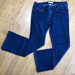 Banana Republic Bootcut Fit Jeans blue 10/30 short